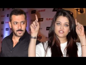 Aishwariya Rai and Salaman Khan