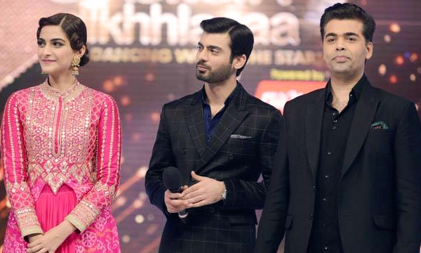 Fawad Khan and Karan Johar