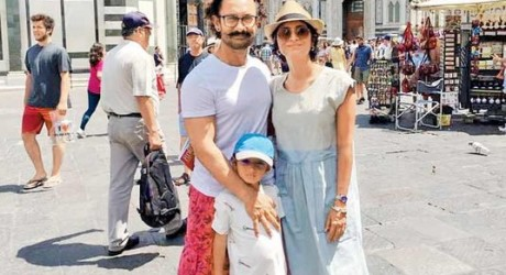 Aamir Khan in Rome