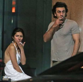 Mahira Pictures on Social Media